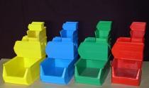 MH-típusú műanyag dobozok
